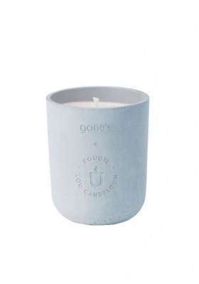 Scented concrete candle 220g Habana