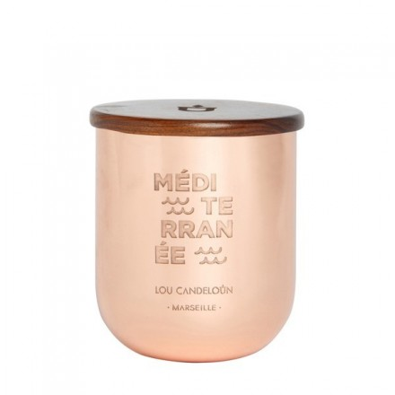 Scented candle 280g Mediterranean