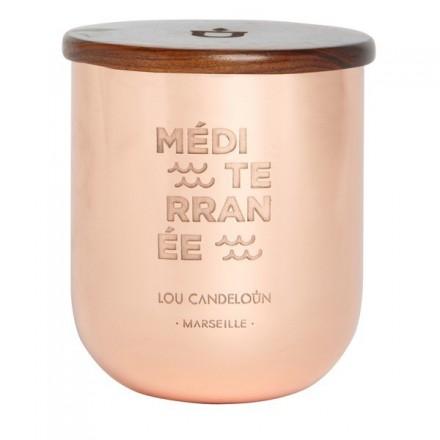 Bougie parfumée 1000g Méditerranée