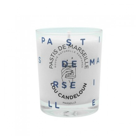 Scented candle 150g Pastis