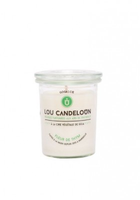 Scented candle 120g Thyme flower